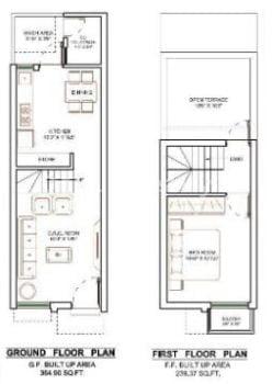 small plot house plans